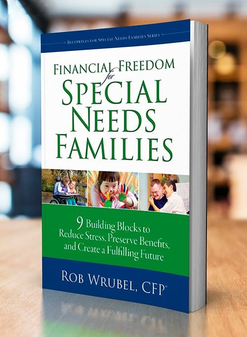 book cover for Financial Freedom for Special Needs Families