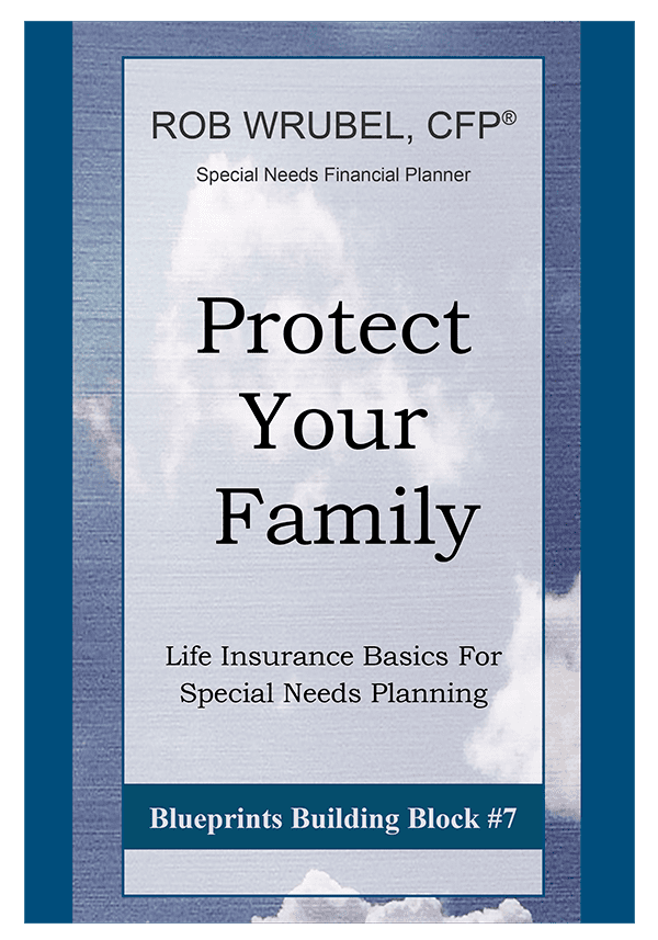 Protect Your Family - a book about Special Needs Planning by Rob Wrubel